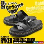 ドクターマーチン サンダル メンズ レディース レザー ベルト ストラップ 厚底 革靴 本革 RYKER 24515001