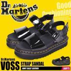(期間限定価格) ドクターマーチン サンダル レディース ヴォス ストラップサンダル DR.MARTENS 25773001 ブラック 黒 ベルト ストラップ 軽量