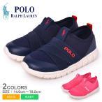(期間限定SALE) ポロ ラルフローレン スニーカー キッズ ベビー ジュニア 子供 BARNES SLIP ON POLO RALPH LAUREN RF1028 RF1029 ネイビー 靴