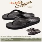 ISLAND SLIPPER アイランドスリッパ パニオロ ツールド レザー アウトドア IBL8903L メンズ 靴