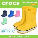 (期間限定価格) クロックス レインシューズ キッズ ジュニア クロックバンド 205827 CROCS 子供 長靴 男の子 女の子