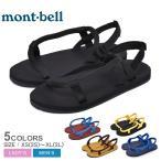 モンベル サンダル メンズ レディース ロックオンサンダル MONTBELL 1129475 スポーツサンダル ブラック 黒 アウトドア キャンプ