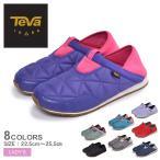テバ スリッポン レディース エンバーモック TEVA 1103202 2WAY スニーカー 靴 シューズ ブラック 黒 グレー アウトドア キャンプ