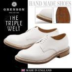 グレンソン GRENSON レザーシューズ カート トリプルウェルト プレーントゥ メンズ 革靴