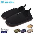 コロンビア スリッポン ユニセックス メンズ レディース ネステント モック 2 COLUMBIA YU7590 ブラック 黒 カーキ ネイビー 靴