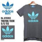 アディダス オリジナルス adidas originals Tシャツ トレフォイル テック 半袖 Tシャツ メンズ (海外モデル)