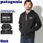 パタゴニア PATAGONIA メンズ '73ロゴ ポリサイクル フルジップ フーディ メンズ