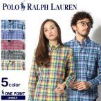 ポロ ラルフローレン POLO RALPH LAUREN  カジュアルシャツ ワンポイント チェックシャツ メンズ  レディース