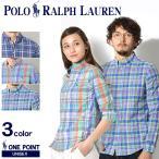 ポロ ラルフローレン POLO RALPH LAUREN BOYS ボーイズ ワンポイント マドラスチェック ボタンダウンシャツ  メンズ レディース