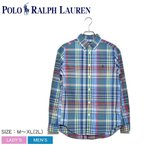 ポロ ラルフローレン長袖シャツ メンズ ワンポイント チェックシャツ 323750000 トップス シャツ ウェア