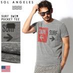ソル エンジェルス SOL ANGELES サーフ スイム ポケットTシャツ Tシャツ メンズ クリスマス