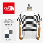 THENORTHFACE ザノースフェイス Tシャツ ショートスリーブセオアルファボーダーティー NT31713 メンズ