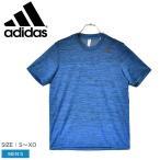 (半額以下) (ゆうパケット可) アディダス Tシャツ 半袖 メンズ グラディエント半袖Tシャツ ADIDAS GLC04 ブルー 青 スポーツ