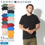 トミーヒルフィガー 半袖Tシャツ メンズ TOMMY HILFIGER ベーシック コットン コア フラッグ