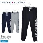 トミーヒルフィガー スウェット パンツ メンズ フリース スウェットパンツ TOMMY HILFIGER 09T3920 黒 ブラック グレー ネイビー