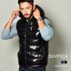 (クーポンで500円OFF) デュベティカ ダウンベスト メンズ ペルカドドゥエ DUVETICA D5030012S01-1035R ブラック 黒 ネイビー 紺  ダウン ベスト