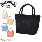 ビラボン トートバッグ レディース コーデュロイ ミニトートバッグ BILLABONG BB014901 ホワイト 白 ブラック 黒 ベージュ 鞄