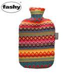 ショッピング湯たんぽ FASHY ファシー ペルーデザインカバー 湯たんぽ 2.0L