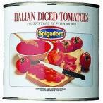 スピガドーロ ダイストマト 1号缶 モンテ 缶詰 調味料 ベースソース ダシ 野菜 とまと カット済 そのまま使える 業務用 [常温商品]