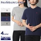 ラルフローレン Tシャツ ワンポイント Vネック 半袖 レディース メンズ POLO RALPH LAUREN ブランド 服 ゆうパケット可 秋