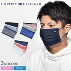 トミーヒルフィガー マスク メンズ レディース TOMMY HILFIGER 3PACK MASK おしゃれ ロゴ 3枚 セット チェック ユニセックス ギフト プレゼント