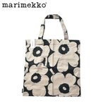 ( メール便送料無料 ) マリメッコ トートバッグ メンズ レディース ファブリックバッグ MARIMEKKO 黒 白 北欧雑貨 ブランド おしゃれ 買い物 コンビニ 袋