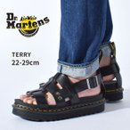 ドクターマーチン サンダル メンズ レディース TERRY 23521001 テリー 靴 厚底 黒 DR.MARTENS ブランド レザー グラディエーター ストラップ 本革 定番