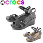 クロックス CROCS crocs サンダル レイ 2 アンクル ストラップ ウェッジ レディース 【海外正規品】 くろっくす