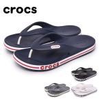 クロックス サンダル メンズ レディース バヤバンド フリップ CROCS 205393 ブラック 黒 ホワイト 白 グレー ネイビー 紺 ビーチ