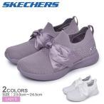 SKECHERS スケッチャーズ スニーカー レディース BOBS SQUAD 2-BOW BEAUTY 32802 靴 カジュアル ブランド  シューズ
