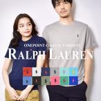 (ゆうパケット可) ポロ ラルフローレン 半袖Tシャツ メンズ レディース ワンポイント クルーネック 半袖Tシャツ POLO RALPH LAUREN 323-674984 黒