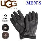 ショッピングアグ アグ オーストラリア UGG AUSTRALIA  手袋 キャピタン ピース レザー グローブ  メンズ