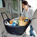 ハンモックバッグ 車内 車 収納 エコバッグ 後部座席に簡単設置!荷崩れの心配ナシ 買い物バッグ 車用カーバック