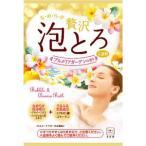 牛乳石鹸 お湯物語 贅沢泡とろ 入浴料 プルメリアガーデンの香り 1包 30g