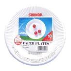 サンナップ ホワイト紙皿 6A 15CM10枚