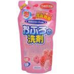 ロケット石鹸 おふろの洗剤 泡タイプ 咲きたてローズの香りつめかえ用 350ml