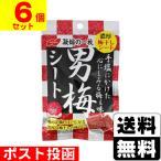■ポスト投函■[ノーベル]男梅シート 27g【6個セット】