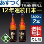 麦焼酎 財宝 スペシャル 25度 一升瓶 1800ml×2本 送料無料 鹿児島 白麹 セット ギフト