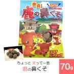 (奈良お土産)ちょっと笑って一息!鹿の鼻くそ70g お菓子 洋菓子 豆菓子 チョコレート ギフト プレゼント かわいい しか 修学旅行 奈良限定