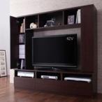 収納棚&AVラック付テレビボード/オープンタイプ,プラズマ,液晶,薄型テレビ台,46型対応,リビング収納