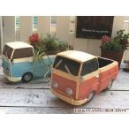 Yahoo!雑貨zakka-candyプランター ガーデン雑貨 ガーデニング おしゃれ かわいい レトロ カフェ風 乗り物  / フラワーポットレトロなトラック
