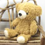 日本製くまのぬいぐるみ モコパルッチ(mocopalcchi) クマのフカフカ ぬいぐるみ Sサイズ ブラウン ぬいぐるみ 童心