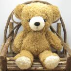 日本製くまのぬいぐるみ モコパルッチ(mocopalcchi) クマのフカフカ ぬいぐるみ Mサイズ ブラウン ぬいぐるみ 童心