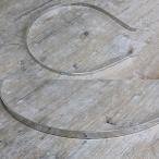 カチューシャ台 金属ベース 幅 5mm シルバー 色 10個 sgy-420-10p メール便送料無料