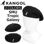 KANGOL ������ SMU Tropic Galaxy �ȥ�ԥå� ����饯���� �ϥ����  ˹�� ��� ��ǥ����� M/L������ K3192SM