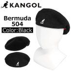 KANGOL ������ Bermuda 504 �Хߥ塼�� �ϥ����  ˹�� ��� ��ǥ����� M/L������ K3075ST �֥�å�