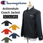 ショッピングtokia Champion チャンピオン アクションスタイル コーチジャケット ジャケット ブルゾン メンズ C3-K604
