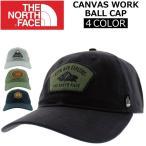 THE NORTH FACE ザ ノースフェイス CANVAS WORK BALL CAP キャンバス ワークボールキャップ キャップ CAP 帽子 メンズ レディース
