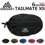 ショッピングtokia GREGORY グレゴリー TAILMATE XS テールメイトXS ウエストバッグ ボディバッグ ヒップバッグ メンズ レディース