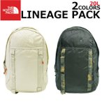 THE NORTH FACE ザ ノースフェイス LINEAGE PACK リネージュパック リュック リュックサック バックパック 20L A3 メンズ レディース
